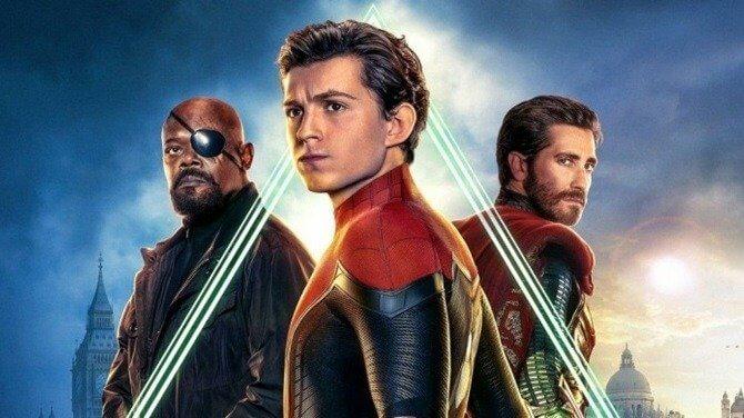 ספיידר-מן: רחוק מהבית