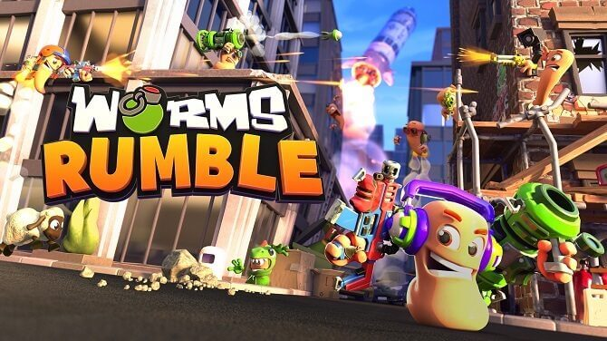 וורמס ראמבל Worms Rumble